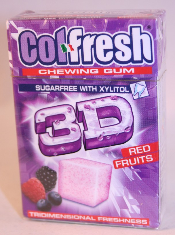 Indaco 2012 Colfresh 3D Cubes Red Fruits