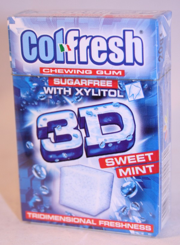 Indaco 2012 Colfresh 3D Cubes Sweet Mint
