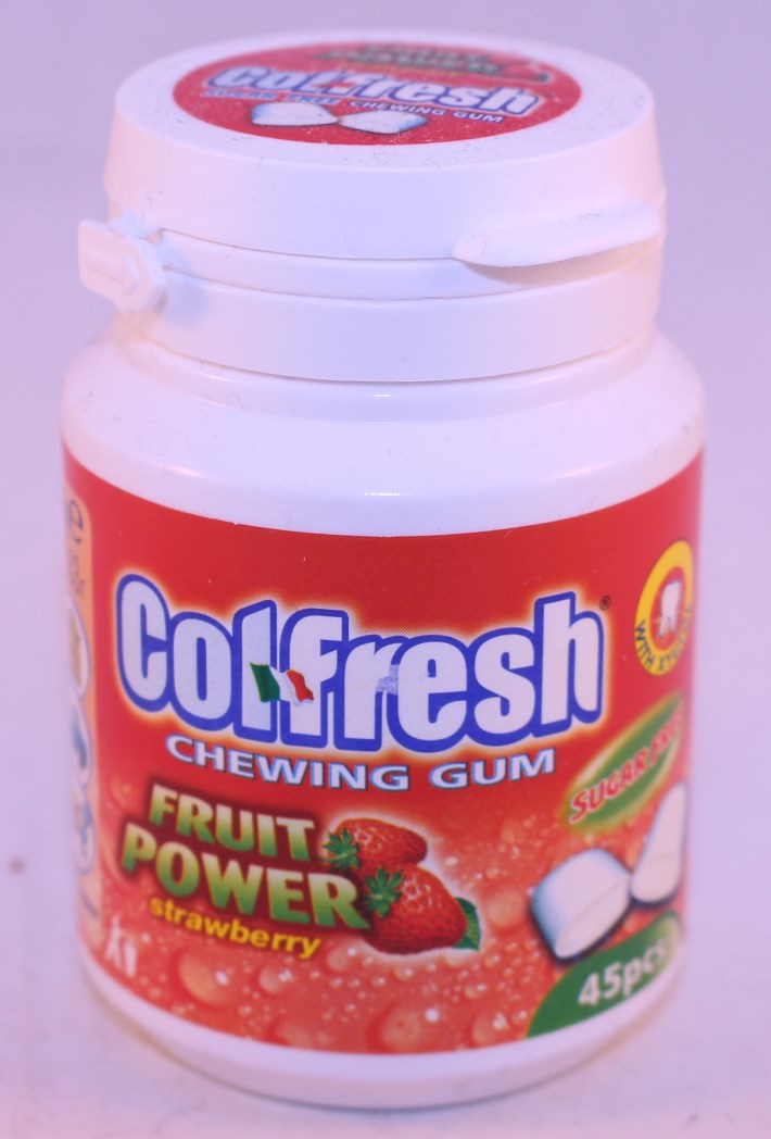 2015 Colfresh Jar 45p Strawberry (Tooth)