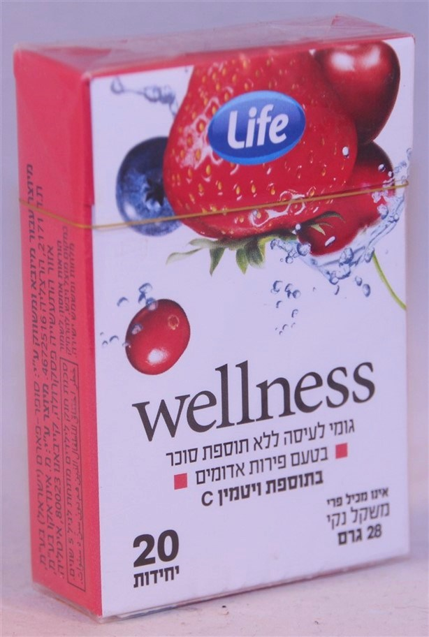2017 Life Wellness Red Fruit