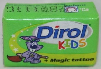 2004 Dirol Kids Mint