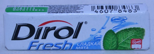 2012 Dirol Fresh Sweet Mint