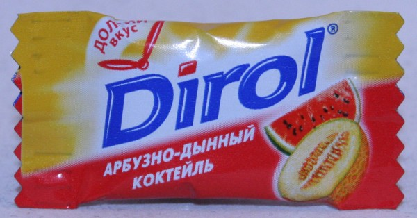 2012 Dirol 2 pellets Watermelon Cocktail (RU)