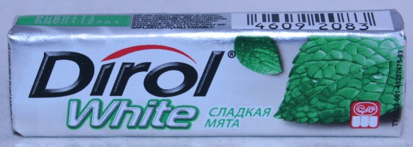 2012 Dirol White 10 pellets Mint (RU)