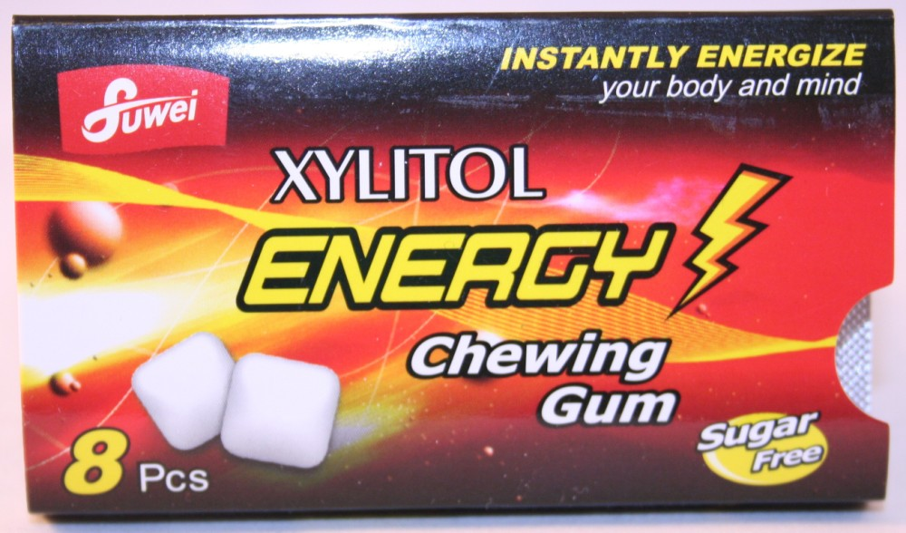 Guangdong Fuwei Fruit & Nuts Manufactoring Co. Ltd. - Energy Chewing Gum